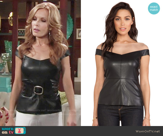 Bailey 44 Fixation Top worn by Tracey Bregman on The Young & the Restless