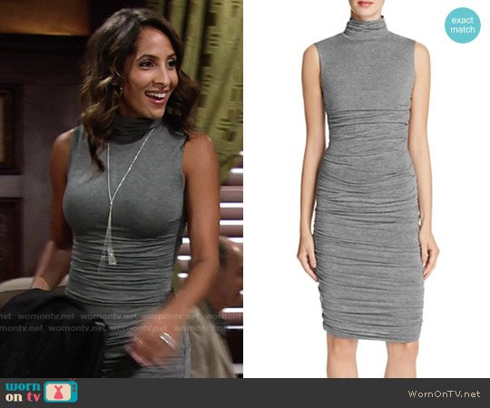 Bailey 44 Ludlow Dress worn by Lily Winters (Christel Khalil) on The Young & the Restless