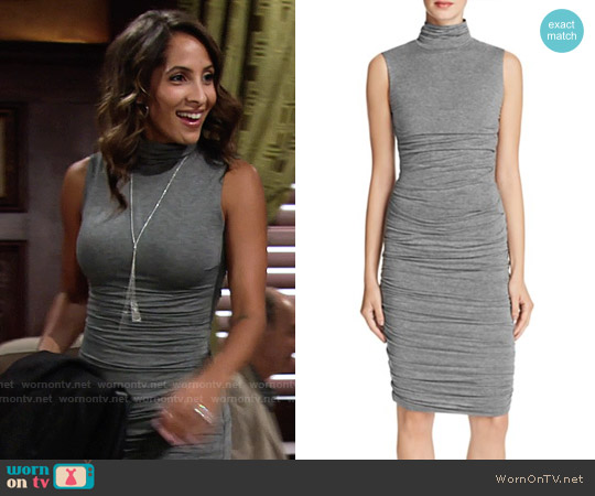 Bailey 44 Ludlow Dress worn by Christel Khalil on The Young & the Restless