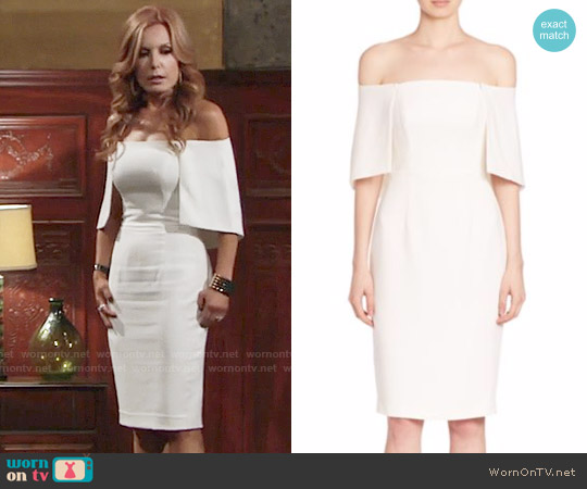 Black Halo Eloise Dress worn by Lauren Fenmore (Tracey Bregman) on The Young & the Restless