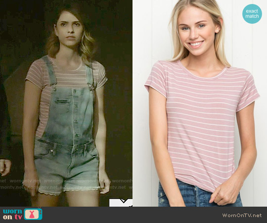 Brandy Melville Mason Top worn by Malia Tate on Teen Wolf