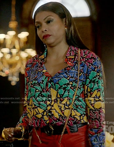 Cookie's colorful 80s print shirt on Empire