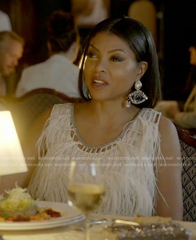 Cookie's eye earrings on Empire
