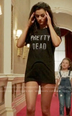 Princess Eleanor's Pretty Dead tee on The Royals