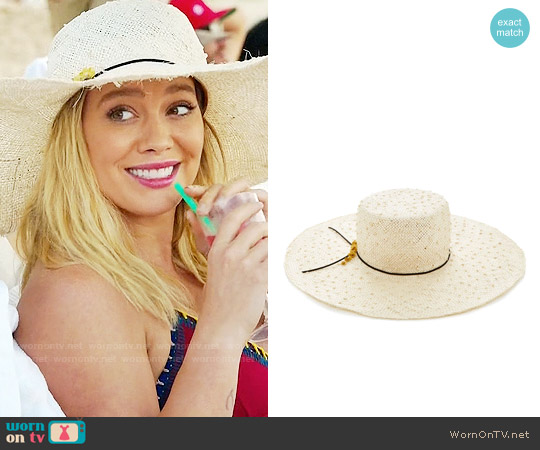 Eugenia Kim Delilah Sun Hat worn by Kelsey Peters on Younger