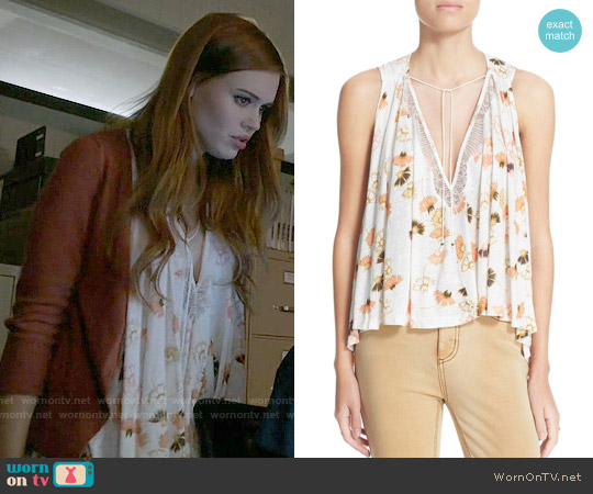 Free People Love Potion Top worn by Lydia Martin (Holland Roden) on Teen Wolf