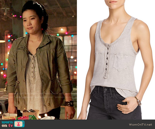 Free People Traveler Tank worn by Happy Quinn (Jadyn Wong) on Scorpion