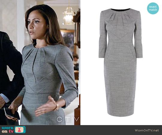 Karen Millen Tailored Dress worn by Italia Ricci on Designated Survivor