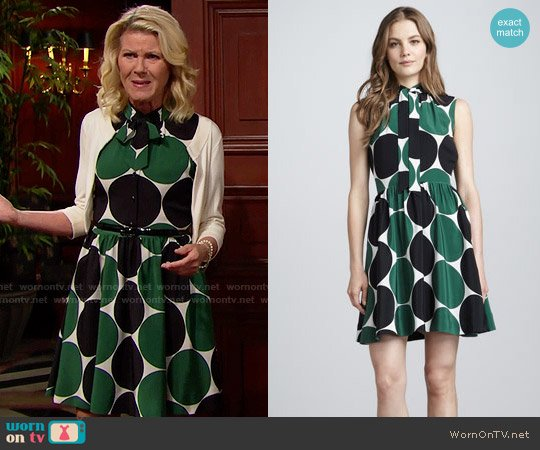 Kate Spade Willa Dress worn by Alley Mills on The Bold & the Beautiful