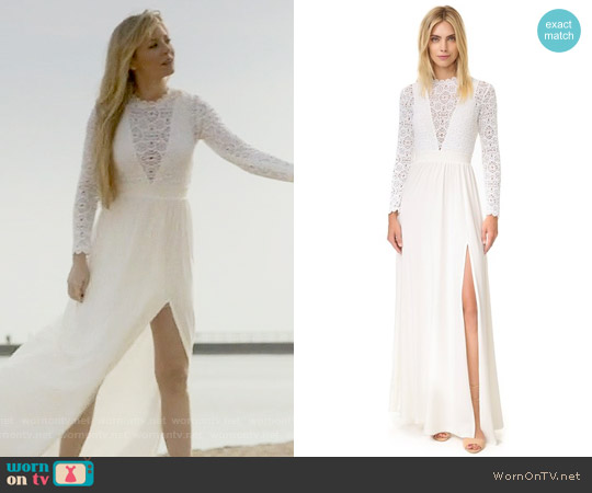 Nightcap x Carisa Rene Angelic Dress worn by Kaitlin Doubleday on Empire