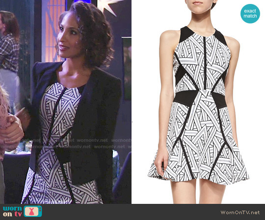 Parker Neve Dress worn by Christel Khalil on The Young & the Restless