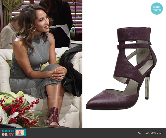Pour la Victoire Zanie Pump worn by Lily Winters on The Young & the Restless