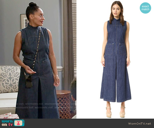 Rachel Comey Badge Jumpsuit worn by Tracee Ellis Ross on Blackish