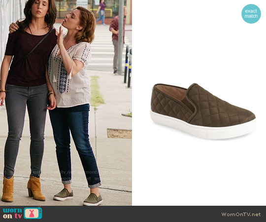 Steve Madden Ecntrcqt Sneaker worn by Rachel Bloom on Crazy Ex-Girlfriend
