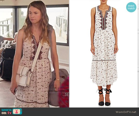 Ulla Johnson Leena Dress worn by Sutton Foster on Younger