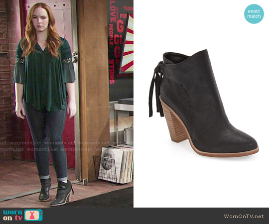 Vince Camuto Linford Bootie worn by Mariah Copeland on The Young & the Restless