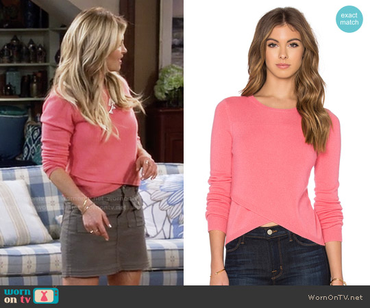 27 Miles Malibu Twiggy Sweater worn by DJ Tanner-Fuller (Candace Cameron Bure) on Fuller House