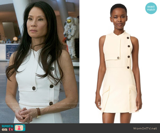 Camilla and Marc Soft Tailoring Mini Dress worn by Joan Watson (Lucy Liu) on Elementary