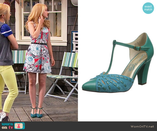 Seychelles Portrait Pumps in Teal worn by Liv Rooney on Liv & Maddie