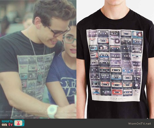 The Reel Tee by Supremebeing worn by Alberto Rosende on Shadowhunters