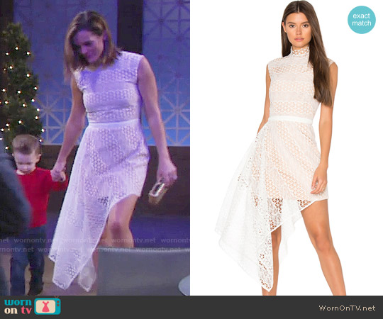 Acler Aleita Dress worn by Melissa Claire Egan on The Young & the Restless