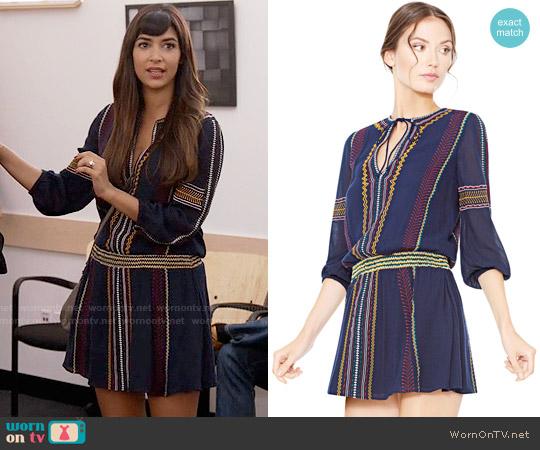 Alice + Olivia Jolene Dress worn by Cece Parekh (Hannah Simone) on New Girl