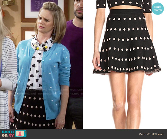 Bcbgmaxazria Gloriah Skirt worn by Kimmy Gibbler on Fuller House