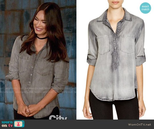 Bella Dahl Pullover Top worn by Megan Fox on New Girl