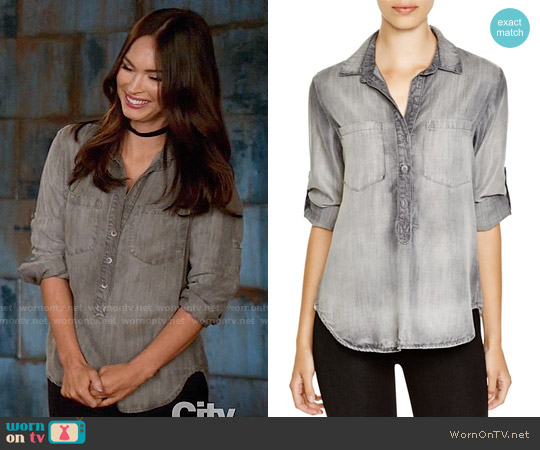 Bella Dahl Pullover Top worn by Reagan (Megan Fox) on New Girl
