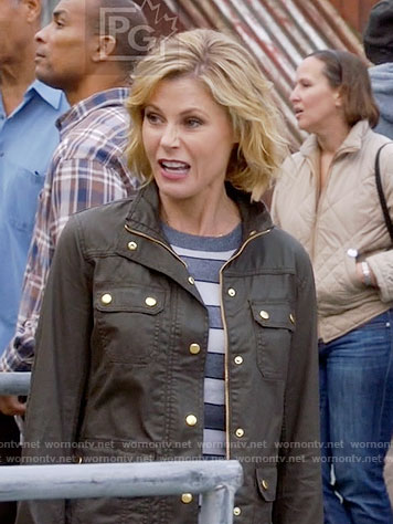 Claire's field jacket on Modern Family