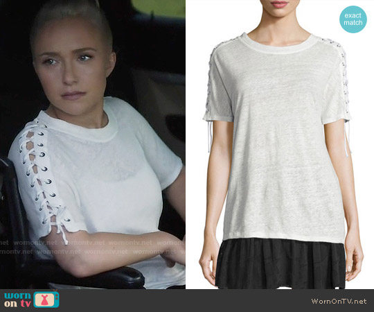 IRO Steiro Tee worn by Hayden Panettiere on Nashville