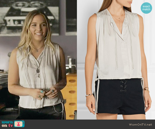 Isabel Marant Hervey Top worn by Maddie Jaymes (Lennon Stella) on Nashville
