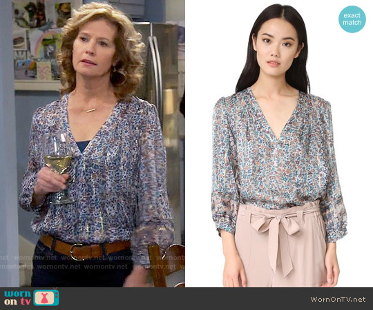 Joie Frazier Top worn by Nancy Travis on Last Man Standing