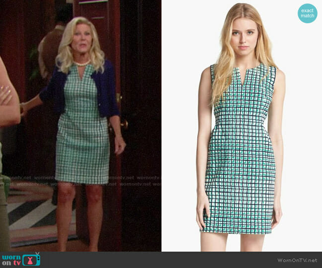 Kate Spade Samantha Dress worn by Alley Mills on The Bold & the Beautiful