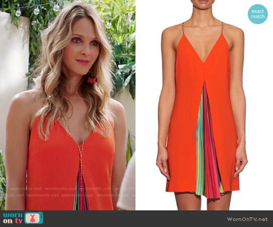 Mary Katrantzou Acer Dress worn by Phoebe Wells (Beau Garrett) on GG2D
