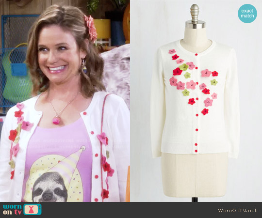 ModCloth Savor the Date Cardigan worn by Kimmy Gibbler on Fuller House