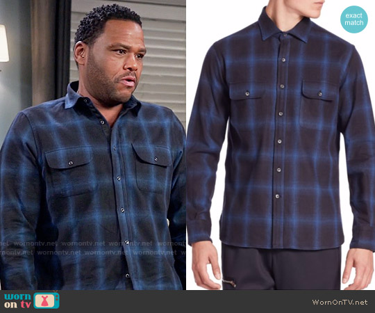 Ovadia & Sons Ian Sport Shirt worn by Anthony Anderson on Blackish