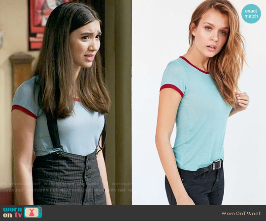 Project Social Molly Ringer Tee worn by Riley Matthews on Girl Meets World