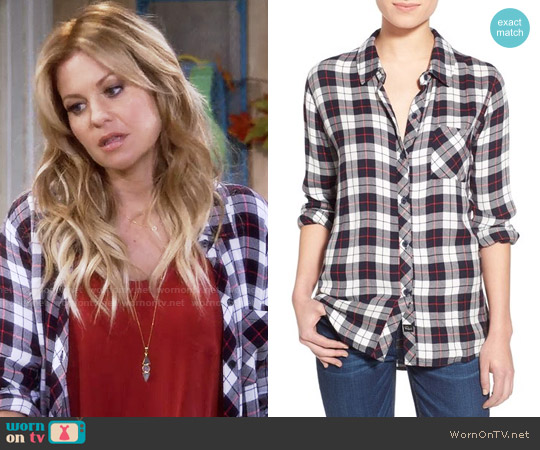 Rails Hunter Shirt worn by DJ Tanner-Fuller on Fuller House