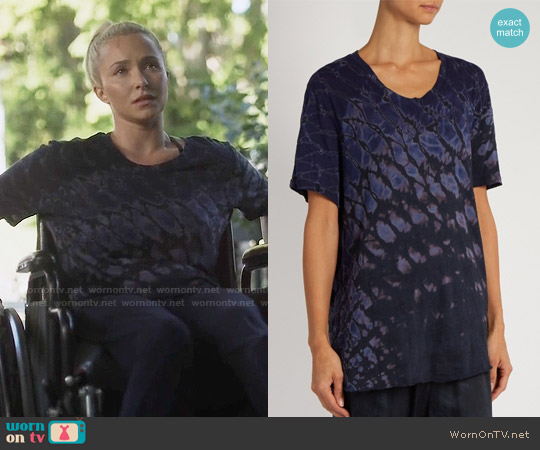 Raquel Allegra Tie Dye Tshirt worn by Hayden Panettiere on Nashville