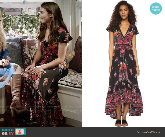 Spell Hotel Paradiso Gown worn by Riley Matthews (Rowan Blanchard) on Girl Meets World