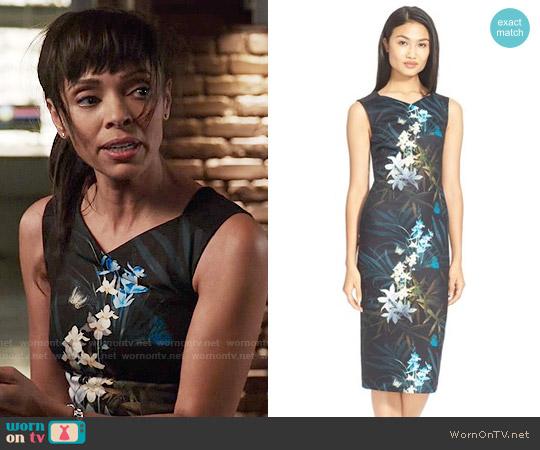 Ted Baker Loua Dress worn by Camille Saroyan (Tamara Taylor) on Bones