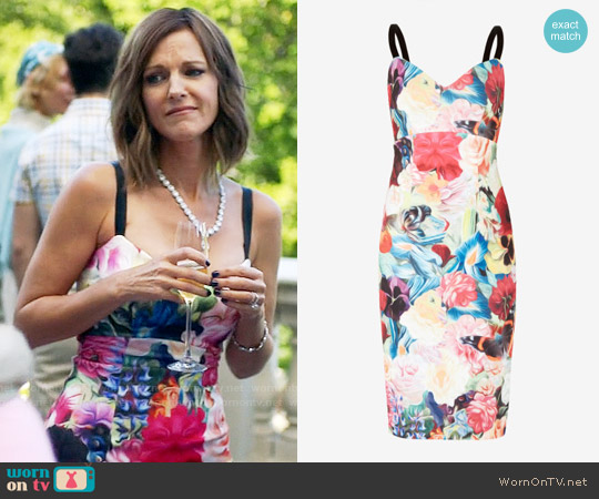 Ted Baker Doona Dress worn by Tricia O'Kelley on The Mick