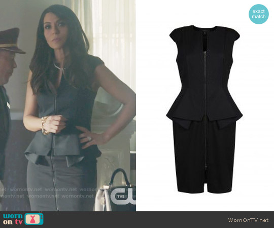 Ted Baker Jamthun Dress in Black worn by Hermione Lodge (Marisol Nichols) on Riverdale