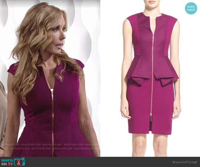 Ted Baker Jamthun Dress worn by Lauren Fenmore (Tracey Bregman) on The Young & the Restless