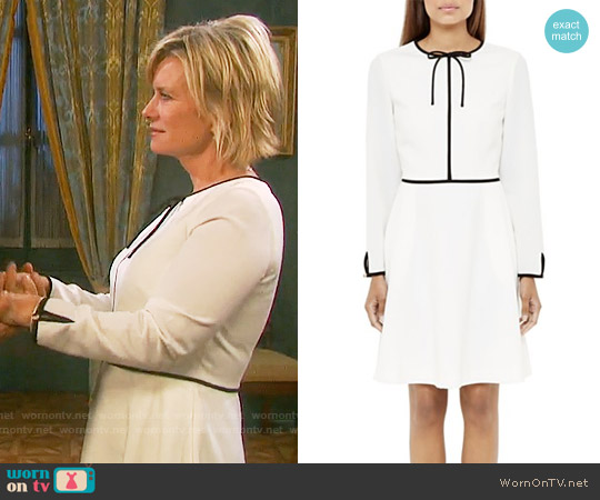 Ted Baker Loozy Dress worn by Mary Beth Evans on Days of our Lives