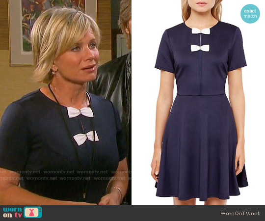 Ted Baker Otisia Dress worn by Mary Beth Evans on Days of our Lives