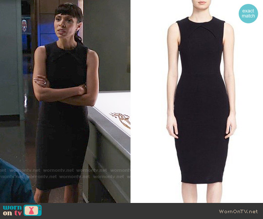 Ted Baker Tarala Dress worn by Camille Saroyan (Tamara Taylor) on Bones