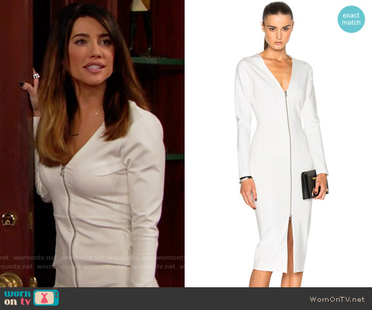 Veronica Beard Firefly Dress worn by Steffy Forrester (Jacqueline MacInnes Wood) on The Bold & the Beautiful