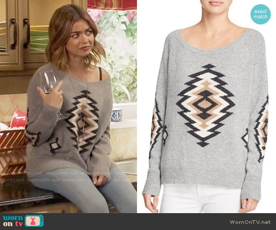 360 Cashmere Skyler Cashmere Sweater worn by Sarah Hyland on Modern Family